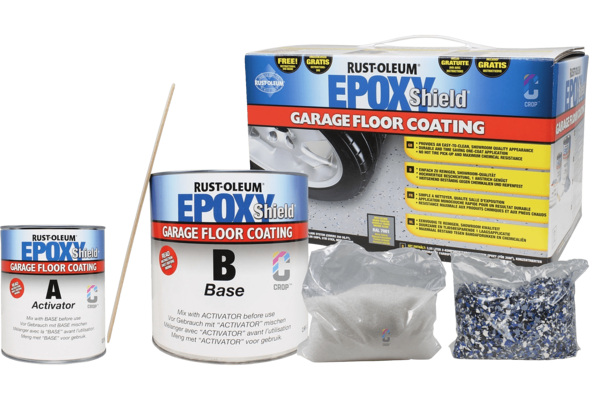 1. Rust-Oleum Epoxyshield Garage Floor Coating