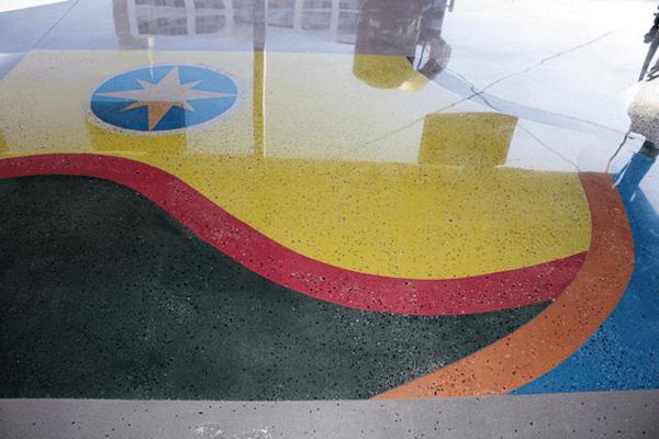 Seeding Concrete Floors