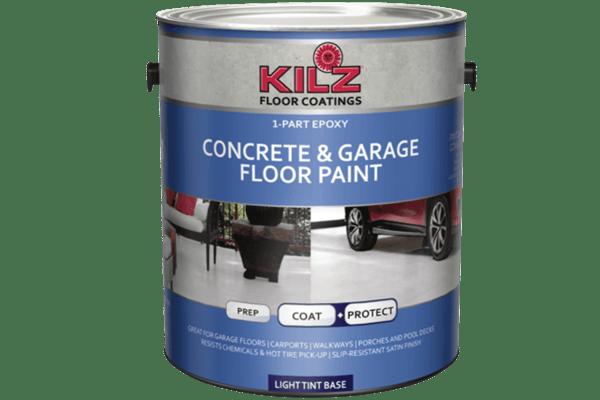 2. KILZ 1-Part Epoxy Acrylic Concrete & Garage Floor Paint