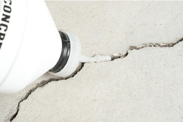 To start,repair cracks