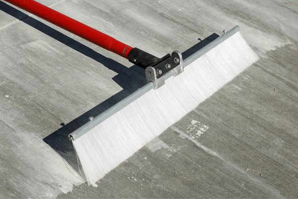 3. Broomed Concrete Overlays