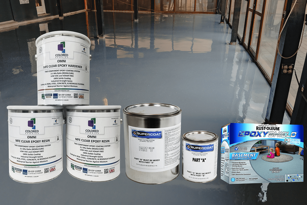 The Best Epoxy for Basement Floors