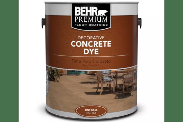 7. Behr Premium Decorative Concrete Dye
