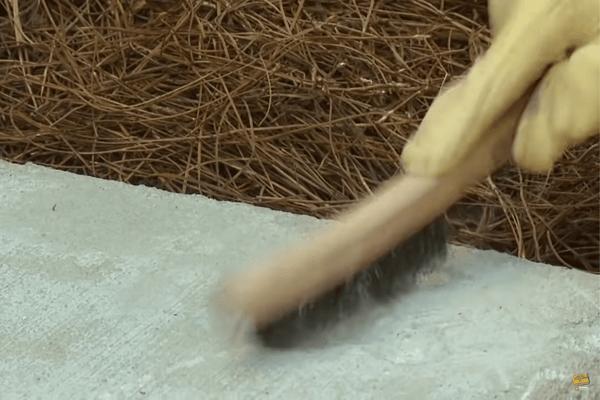 2. Remove Crumbling Concrete
