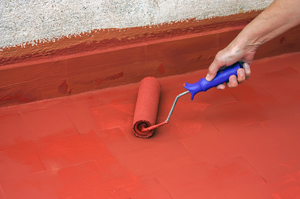 Apply a Second Coat of Waterproofing
