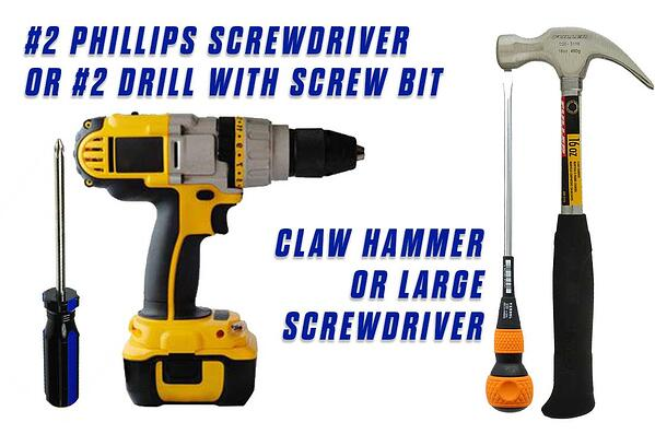 Replace-Grommets-Onfloor-OF16S-EZV-Sander-Pad-drill-bit-screw-driver-claw-hammer