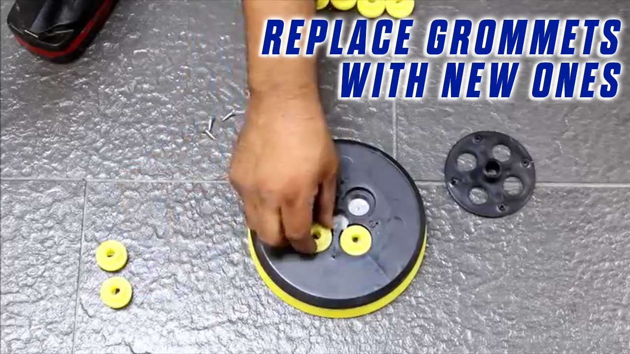 Replace-Grommets-Onfloor-OF16S-EZV-Sander-Pad-replace-grommets-new