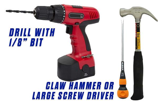 1 Replace the Brush Strip Onfloor OF16SEZV Sander Materials claw hammer drill