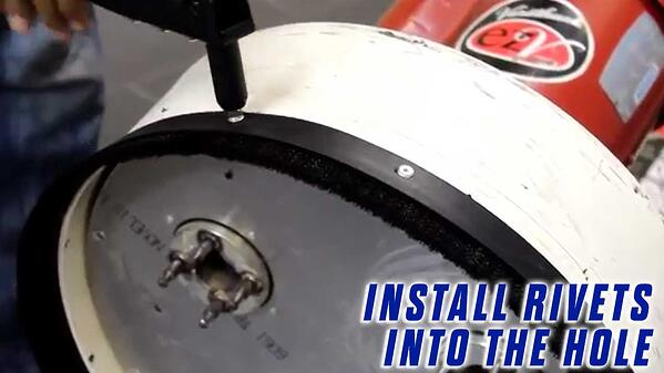 6-Replace-the-Brush-Strip-Onfloor-OF16SEZV-Sander-install-rivets-hole