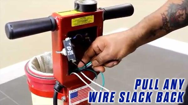 Power-Cord-Onfloor-OF16SEZV-Sander-pull-wire-slack-back