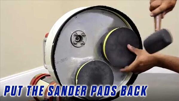 Replace-the-Timing-Belts-Onfloor-OF16SEZV-Sander-PUT-BACK-SANDER-PADS