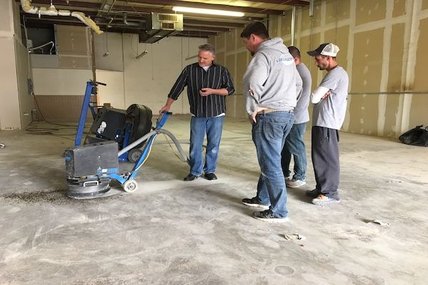 The Basics of Concrete Grinding and Polishing.