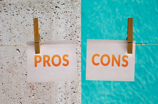 What Are the Pros and Cons of a Concrete Pool As Opposed to the Other Types