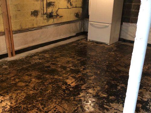 mastic floor